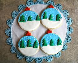 snow globe ornament sugar cookies a dash of megnut