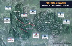 Vail Mountain Map Vail Reveals Proposed Canyons Pcmr Connection