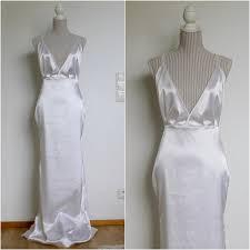 beach wedding dress boho wedding dress satin wedding dress