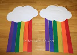 la la u0027s home daycare st patrick u0027s day paper rainbow u0027s