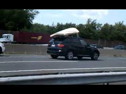 mattress flying off of roof of truck