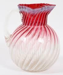 Antique Cranberry Glass Vase 252 Best Cranberry Glass Images On Pinterest Cranberry Glass