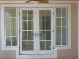 patio doors french patio door with sidelights doors outswing wood