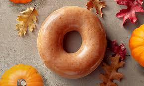 krispy kreme s pumpkin spice doughnut is returning for one day