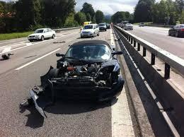 Black Mustang Crash Audi Rs 5 Dodge Challenger Srt8 Wrecked Tesla Roadster Top