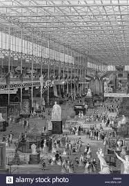 At Hyde Park Great Exhibition Of 1851 Palace Hyde Park Stock