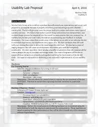 hardware design proposal usability lab design proposal
