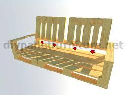 fabriquer un canap en palette comment faire un fauteuil avec des palettes maison design bahbe com