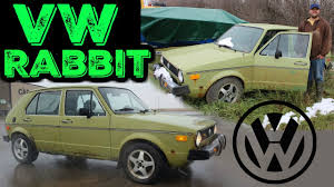 volkswagen hatchback 1980 vw rabbit cold start 1980 mk1 volkswagen rabbit youtube