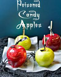 candy apple ideas for halloween theresa u0027s mixed nuts jolly rancher poisoned candy apples