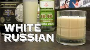 white russian drink recipe white russian aka caucasian learn how to drink cocktails like