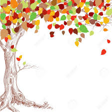 autumn tree background royalty free cliparts vectors and stock