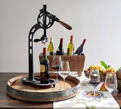 Pottery Barn Wine Rack Wall Vintners Standing Wine Opener Pottery Barn