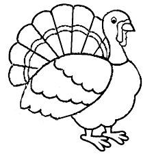 turkey printable coloring pages kids boys girls