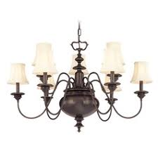 Jefferson 9 Light Chandelier Traditional - traditional polished nickel chandeliers destination lighting