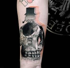10 artists who produced remarkable skull tattoos scene360