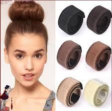 chignon tool 2018 hair hairagami bun extension updo synthetic hair band