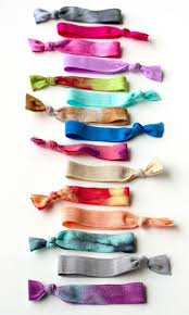 ribbon hair ties the twistband hair ties just got some at the poppy and i