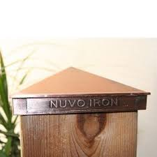 nuvo iron 5 5 x 5 5 nominal 6 x 6 pyramid ornamental