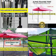 Tenda Lipat Ukuran 3x3 0822 3336 9316 tenda lipat american matic tenda besi untuk jualan