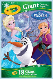 giant coloring pages disney frozen crayola au
