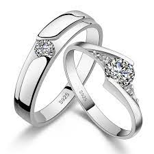 wedding rings for couples promise rings on wedding band sets couples promise