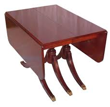 Kitchen Table With Fold Down Sides Side Table Drop Side Dining Table Kitchen Contemporary Leaf Slim