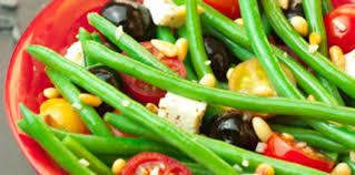 cuisiner haricots beurre salade de haricots verts feta olives facile recette sur cuisine