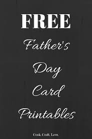 free fathers day cards free printable s day cards cook craft