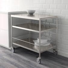 kitchen trolleys and islands flytta roltafel roestvrij staal kitchens