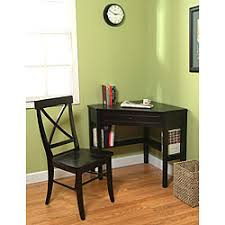 Small Desk And Chair Set Desk Chair Small Desk And Chair Set Simple Living Black Corner
