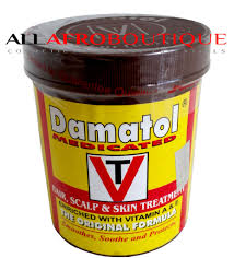 damatol medicated hair scalp and skin treatmen 110 g 3 87 oz