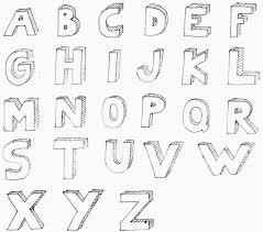 drawing 3d block letters 3d bubble letter alphabet for bible