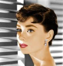 50s earrings lovely early 50 s photo of hepburn check out the gorgeous