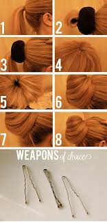 easy hairstyles for waitress s 15 easy hairstyle tutorials for outgoing easy bun easy