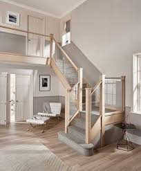 Glass Stair Banister Staircase Style Guide Real Homes