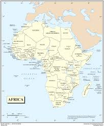 Africa Continent Map by Africa Map With Countries World Map