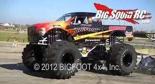 monster truck video for video electric full size monster truck car crushing bigfoot 20