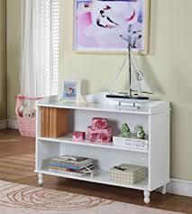 amazon com riverridge kids horizontal bookcase white kitchen