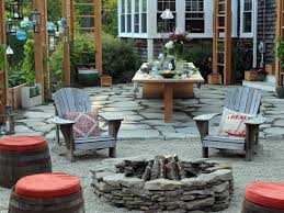 Backyard Fire Pit Design by Outdoor Fire Pits And Fire Pit Safety Hgtv