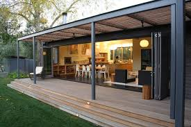 l shaped plans porch modern with deck white shade