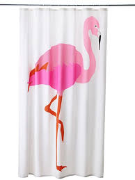 Flamingo Shower Curtains Flamingo Decor From Ikea Cheery Shower Curtains For Just 14 99