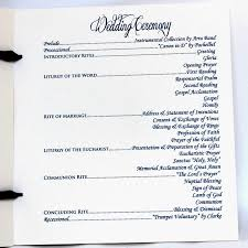 wedding programs traditional wedding program citrine designs