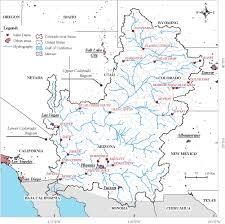 Colorado River Basin Map by Contrasting American And Brazilian Systems For Water Allocation