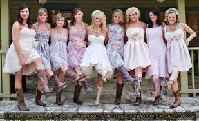 bush wedding dress bridesmaids dresses with boots not from bush s wedding