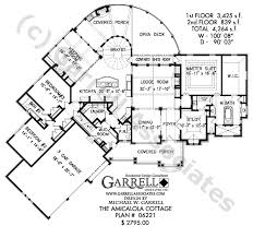 Amicalola Cottage House Plan House Plans By Garrell Associates Amicalola Cottage House Plans