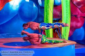 Six Flags Valejo Cirque Dreams Splashtastic At Six Flags Discovery Kingdom Show