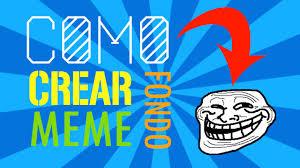 Crear Un Meme - como crear un fondo de memes en adobe photoshop youtube
