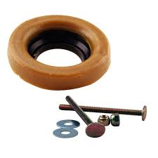 ring for wax ring and bolts for toilet bowl d6033 40 the home depot