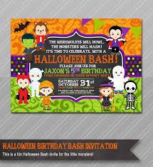best 25 halloween birthday party invitations ideas on pinterest